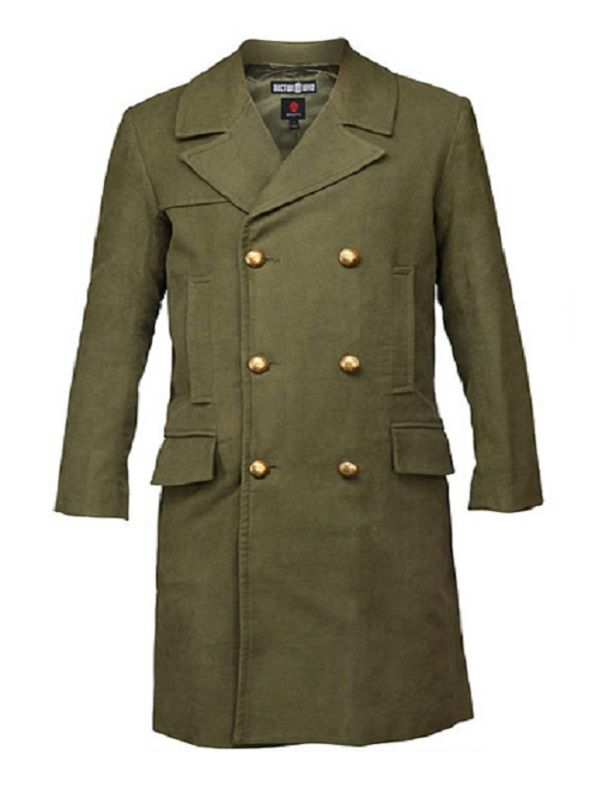 Eleventh Doctor Who Green Long Coat | Top Celebs Jackets