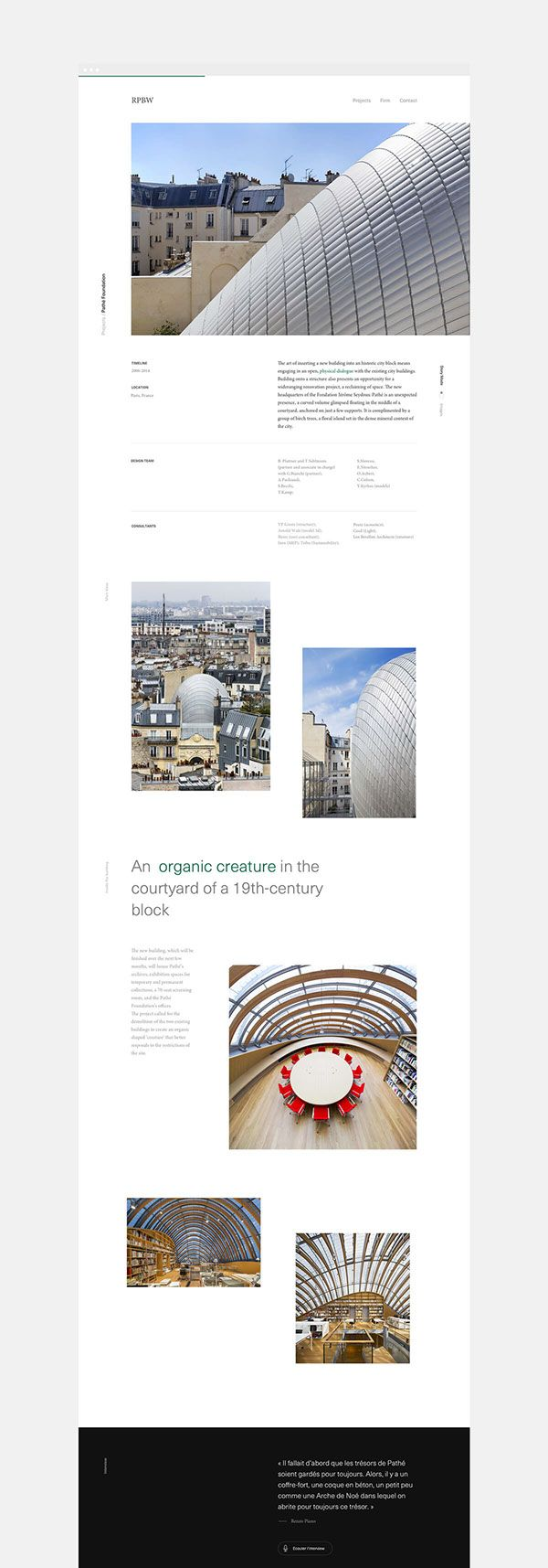 Renzo Piano Building Workshop on Behance