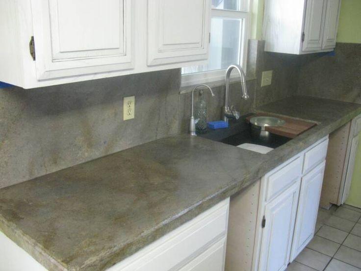 Delightful Concrete Countertop Kits | Judyu0027s House Updates | Pinterest | Concrete  Overlay, Blue Tiles And Concrete
