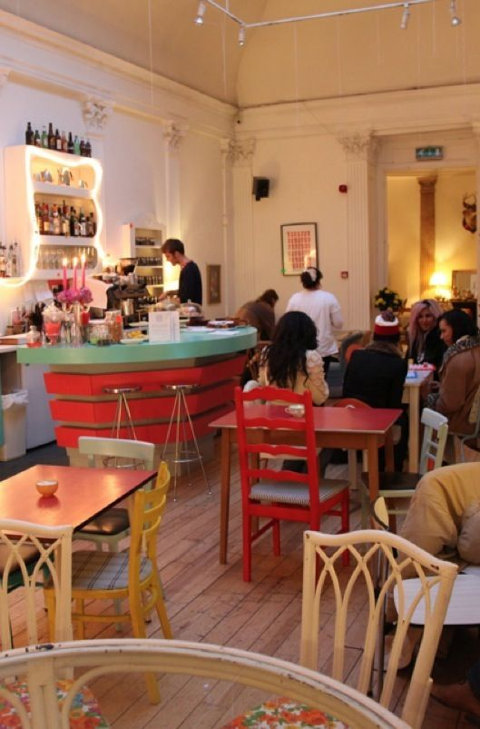 Drink, Shop & Do — Cafe Bar Kings Cross. Fun dancing nights, Cafe in the day, this place does it all. Worth checking out on a fri/sat eve or an early disco after work on a thurs.