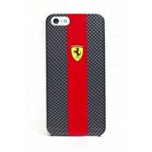 Carcasa iPhone 5 - Ferrari - Fibra de Carbono Roja  Bs.F. 220,68