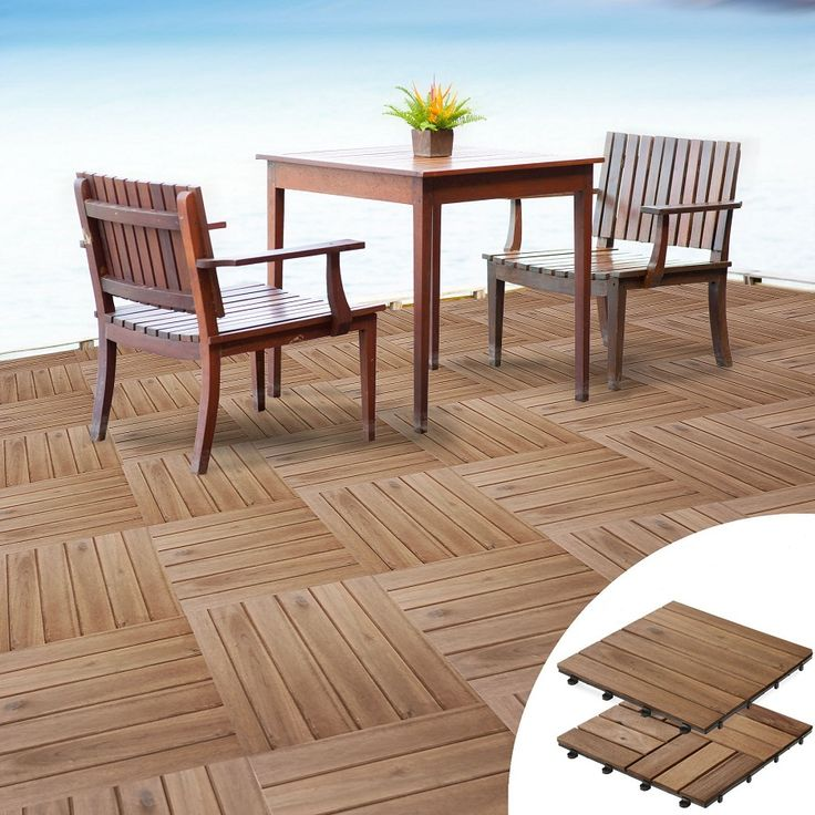 Interlocking Wood Deck Tiles Is Particularly Widespread On Because Of Tile Color And Style Variety Unlike Traditional Injected Are