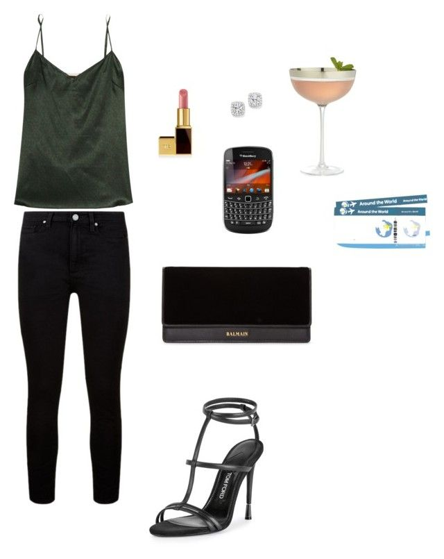 """Anastasia Steele - Cocktails at """"The Bohemian"""", Georgia. by ohmyfifty on Polyvore"""