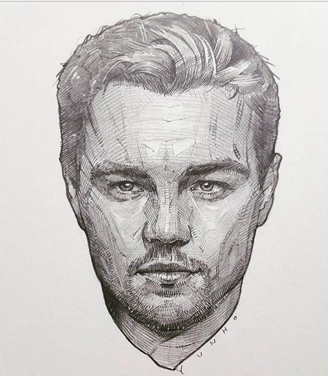 Рисунки карандашом портреты мужчин