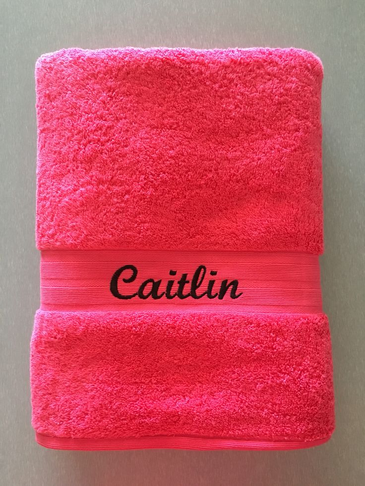 Personalized Bath Towels $20ea