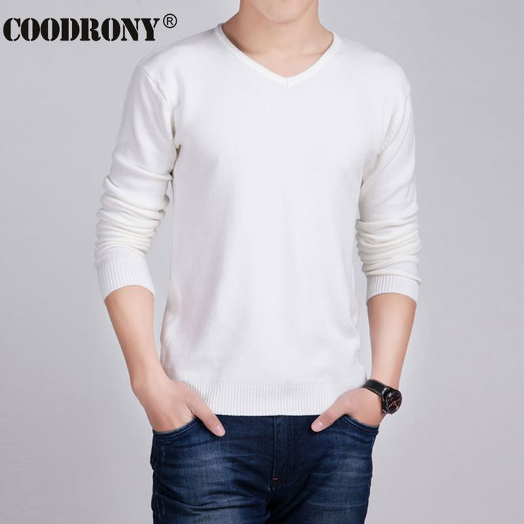 HS Solid Color Pullover Men Wool & Cashmere Sweater Men 2016 Famous Brand Mens V Neck Sweaters Fashion Pull Homme Slim Fit Shirt