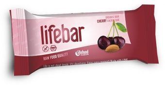 Lifebar RAW ENERGY BARS - Cherry