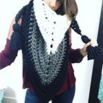 """218 Likes, 27 Comments - MJ's Off The Hook Designs (@mjsoffthehook) on Instagram: """"This Bulky Hooded Katniss Cowl is so unique and cozy💕 and it's another pattern that could be won in…"""""""