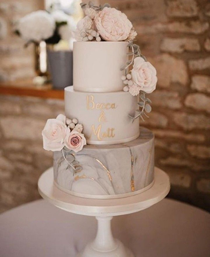 Pin By Audreyt S On Wedding Wedding Cake Marble Wedding Cake Flavors Diy Wedding Cake