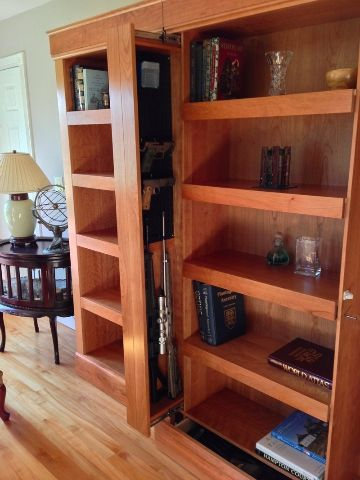 bookshelf with hidden compartments - Google Search. MY NOTE: how freaking awesome is this?