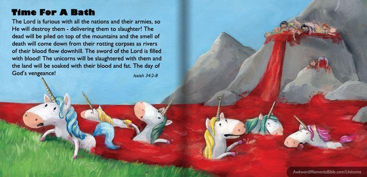 Unicorns In The Bible - Awkward Moments Bible