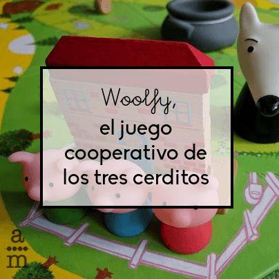 Descubre Woolfy, el juego de mesa cooperativo de Djeco, basado en el famoso cuento de los tres cerditos y con el que disfrutarán y aprenderán.