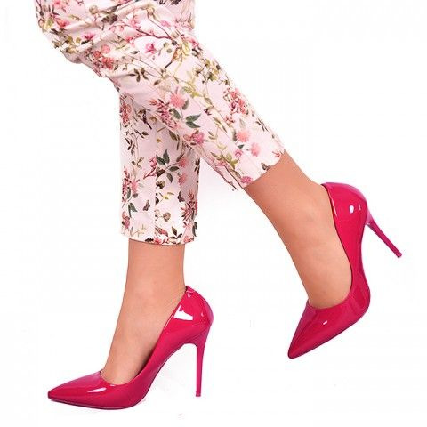 GEISHA FUSHIA | Red Pumps