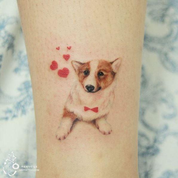 Tatuadora coreana faz tattoos sem contorno e o resultado é uma graça