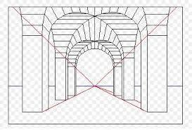 Resultado de imagen para Como dibujar en perspectiva un espacio con 1 punto de fuga