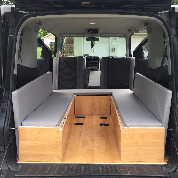22 best honda element camper images on pinterest honda element camper caravan and micro campers. Black Bedroom Furniture Sets. Home Design Ideas