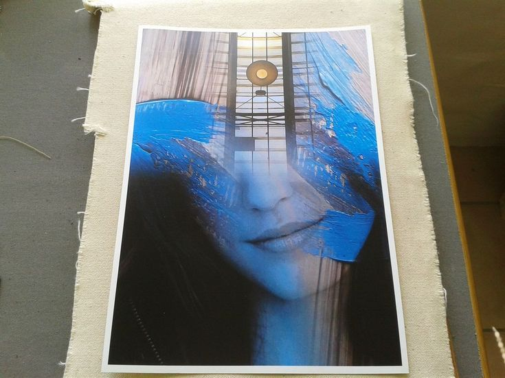 Buy Prussian Blue - Surreal Photo Portrait, Manipulated photograph by André Pillay on Artfinder. Discover thousands of other original paintings, prints, sculptures and photography from independent artists.  #artfinder  #surrealphotography #abstractart  #wallart