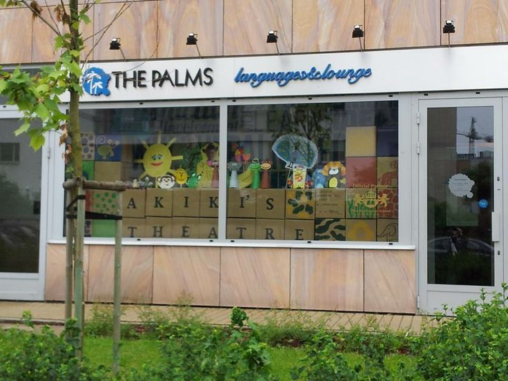 how to present theater classes? a special window display might help. www.thepalms.edu.pl