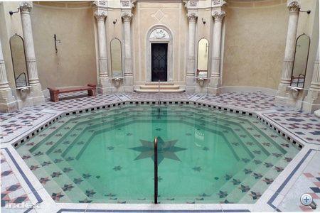 Rác Thermal Bath , Budapest, Hungary