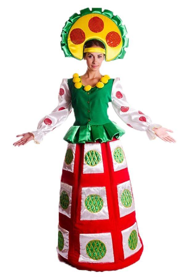 Карнавальный костюм «Игрушка Дымковская» женский