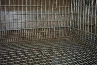 detailed instructions on constructing rabbit cages