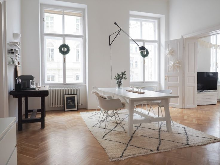 A Scandinavian-Inspired Apartment in a Vintage Vienna Building #homedecor #home #diy