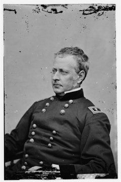 Joseph Hooker - Led the Army of the Potomac in 1862-1863. Removed after the Battle of Chancellorsville. (West Point - Class of '37)