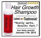 Nutrifolica Regrowth Shampoo DHT Hair Loss Regrow Thin Thinning growth alopecia
