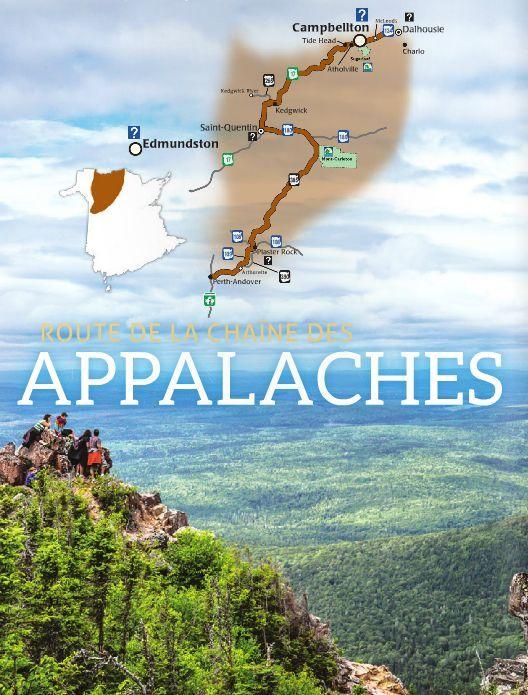 Les meilleurs lieux où admirer les splendeurs d'automne au Nouveau-Brunswick, Canada | Route de la chaîne des Appalaches | Sur la Route de la chaîne des Appalaches, les forêts étendent leurs couleurs automnales d'un sommet à l'autre, offrant un décor de rêve pour la randonnée, le camping et le canot.