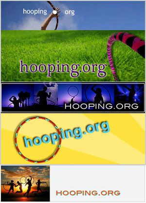 hooping.org  Did you know you can burn 100 calories every 10 mins you hoop?  That's 600 calories in an hour!