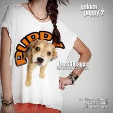 Kaos ANJING LUCU, Kaos Golden Puppy 3D, Kaos Anak Anjing Golden Retriever, Kaos 3D Anjing Ras, Kaos Cewek Gambar Anjing, http://instagram.com/kaos3dbagus, WA : 08222 128 3456, BBM : 5E72 A3A9, LINE : kaos3dbagus
