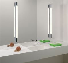 SLIM VANITY WITH GREAT MIRROR AND LIGHTING Palmero 1200 Bathroom Wall Light/Mirror Light (0627) http://www.simply-lighting.co.uk/palmero-1200-bathroom-wall-lightmirror-light-0627-7616-p.asp