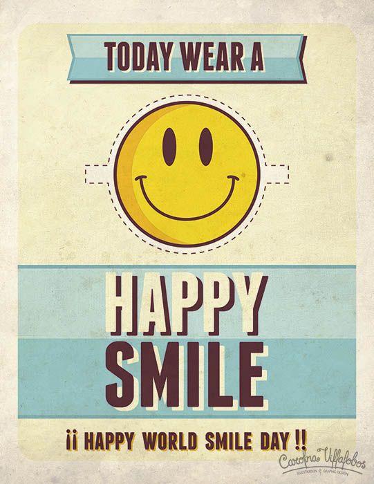 Happy World Smile Day!!! // Feliz Día Mundial de la Sonrisa!!!  #Happyworldsmileday  #worldsmileday #happyface #smileyface  #yellowsmiley #DiaMundialdelaSonrisa #carasonriente