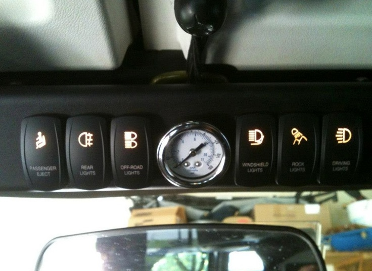 sPod switch with OTRATTW rockers!! Bad Ass for any Jeep ...