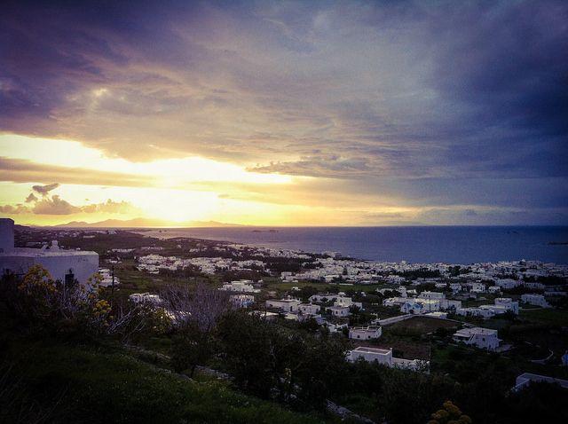 Sunset-Paros Paroikia