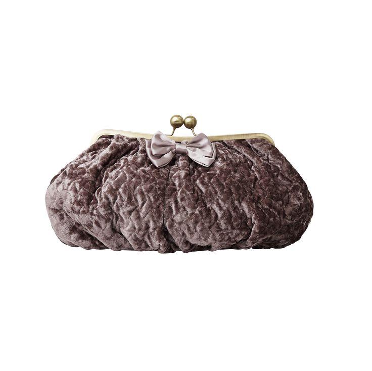 Soft velvet cosmetic bag from Molly Marais. Molly Marais.