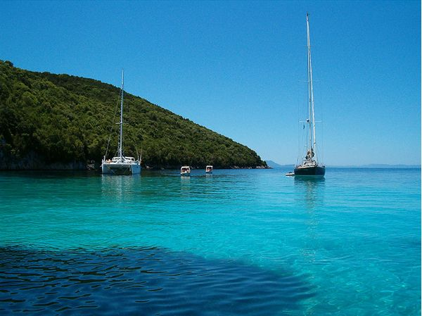 Sailing in Greece. Yes please. Jordan Ferney of Oh Happy Day will be this summer- sailing envy.