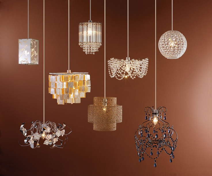 Chandeliers at homebase :