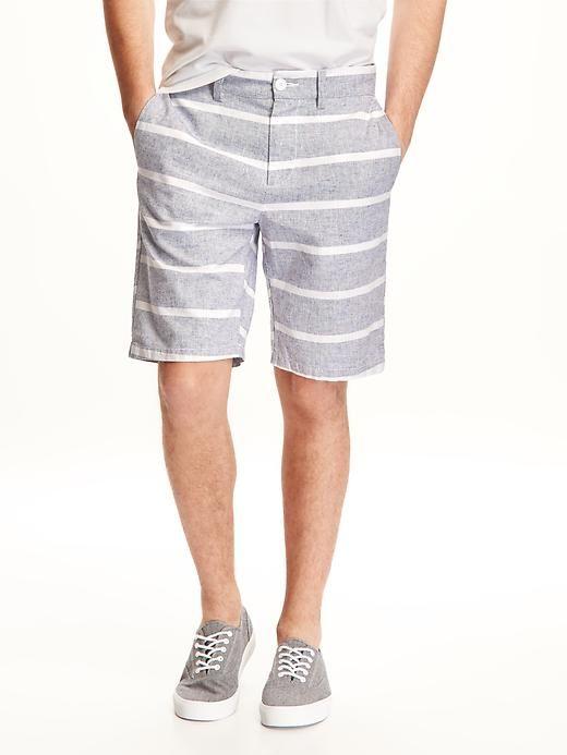 """Ultimate Slim-Fit Linen-Blend Shorts for Men (10"""") Product Image"""