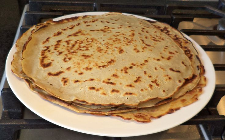 Recept voor pannenkoeken die glutenvrij, suikervrij en lactosevrij zijn, maar dan ook heel lekker!