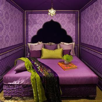 purple bedroom mediterranean matching - photo #34