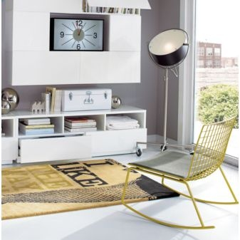 beacon floor lamp 249: Floor Lamps, Lamp 249, Grellow Rocker, Living Room, Beacon Lamp, Cb2 Rocker