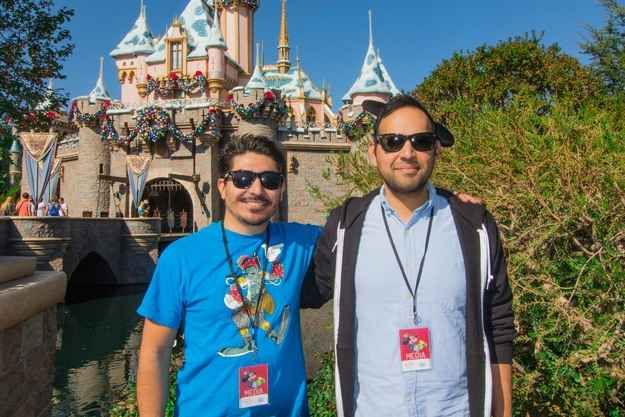 The best place to take a photo of Sleeping Beauty's Castle is on the right-hand side (not the front). You not only get a better force perspective, but also the water. | 18 Tips And Hacks To Make Your Day At Disneyland Better