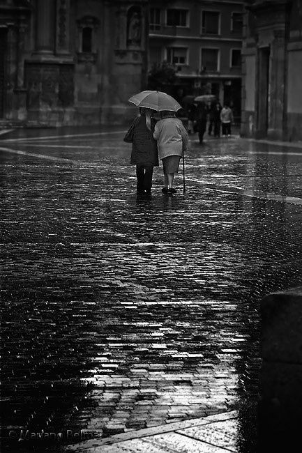Walking in the rain, one of my favourite things in life.