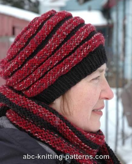 ABC Knitting Patterns - Pipe Dream Hat