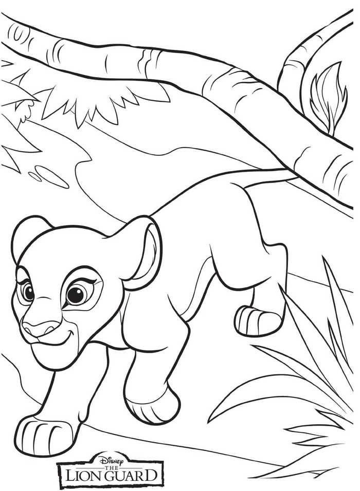 The Lion Guard Coloring Pages Collection In 2020 Cartoon Coloring Pages Coloring Pages Coloring Books