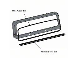 Omix-ADA Windshield Glass Inside Seal (87-95 Wrangler YJ)
