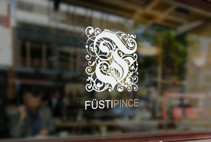 Nagy Anett webdesigner hallgatóm logója a Füsti Pincének.