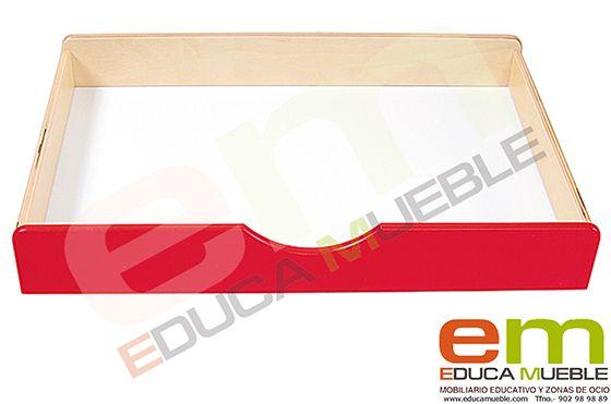 #Mobiliario #educativo. #Cajon de #madera BIS en diferentes #colores para #muebles de serie D - Tienda Educamueble