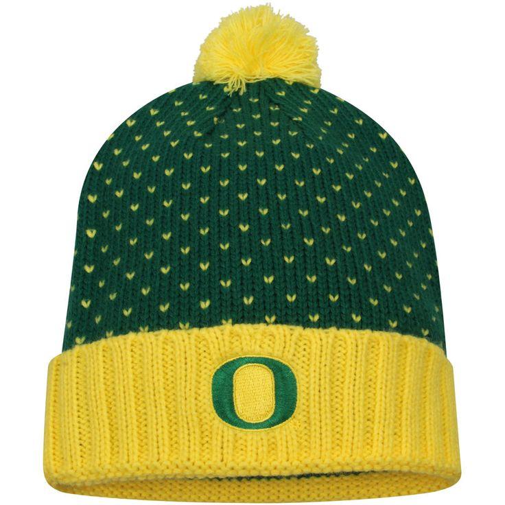 Women's Nike Green Oregon Ducks Local DNA Cuffed Knit Hat